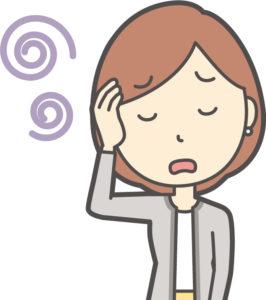 頭痛で悩む